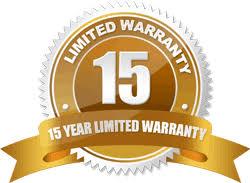 15 warranty