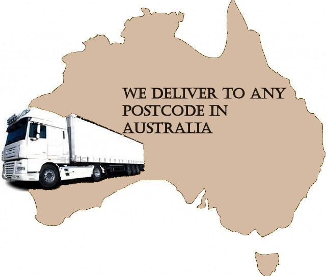 We Deliver to ANY postcode in Australia.